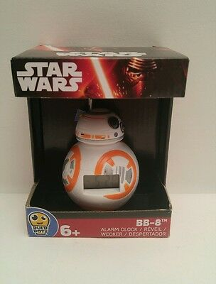 Star Wars BB-8 Alarm Clock Ages 6+ New in Package