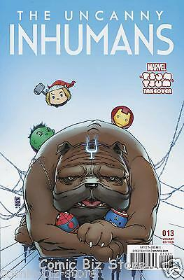 Uncanny Inhumans #13 (2016) 1St Printing Camuncoli Tsum Tsum Vriant Cover Cw2