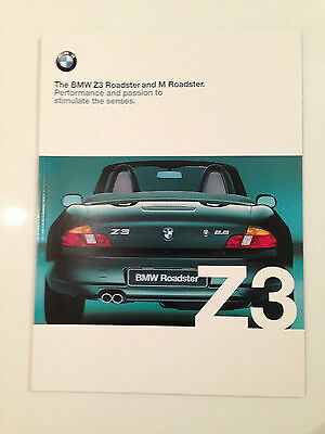 The BMW Z3 and M Roadster UK Brouchure - 0 11 03 04 21 1 2000vm