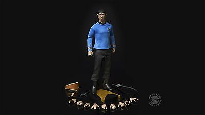 Star Trek QMX Commander Spock 1:6 Scale Master Series Action Figure