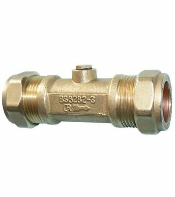 35mm Double Check Valve - Bronze Compression