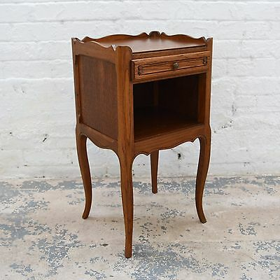 Antique French Louis style Bedside cabinet / pot cupboard