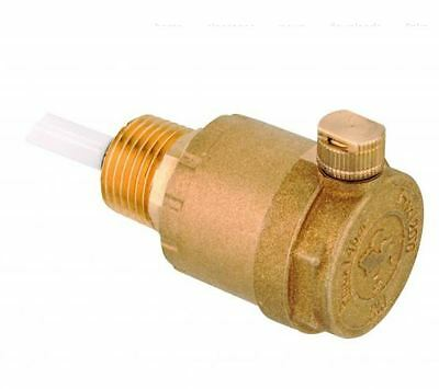 """Giacomini R881 1/2"""" Automatic Air Vent with Check Valve"""