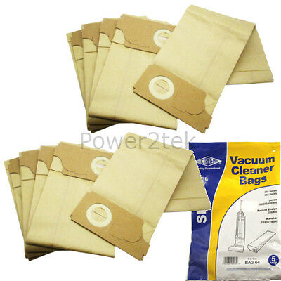 10x Vacuum Cleaner Bags with Flexible