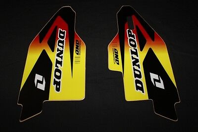 Suzuki Rm-Rmz   Lower Fork Guard Mx Decals Stickers