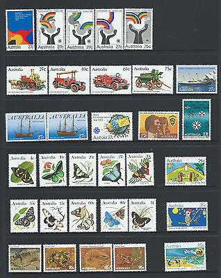 """1983 Australia """"The Collection of 1983 Australian Stamps"""" Complete Set:MUH"""