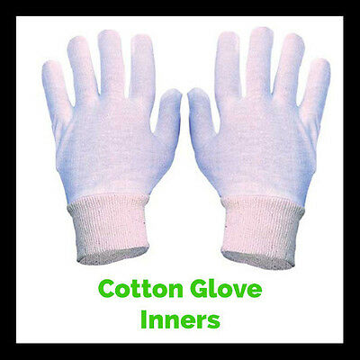 Boxing Glove Cotton Inners Liners -  100 Pairs. Buy in Bulk & Save!