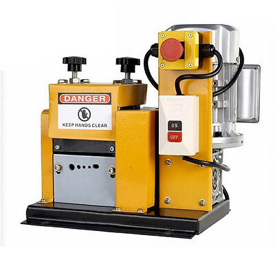 STON 110V Auto Wire Scrap Cables Stripper Copper Stripping Machine 1/2 HP Motor