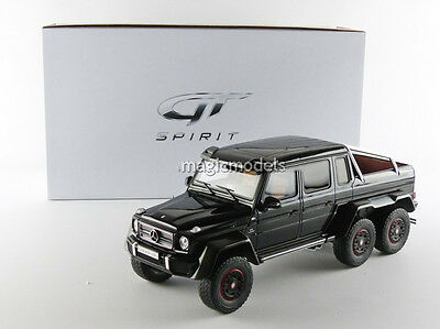 GT Spirit 2015 Mercedes Benz G63 AMG 6X6 Black 1/18 Scale LE of 500 In Stock!