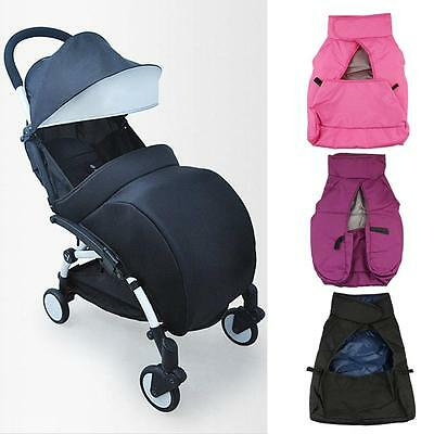 Baby Pushchair Pram Coldproof Warm Cover Footmuff Buggy Stroller Wind Apron