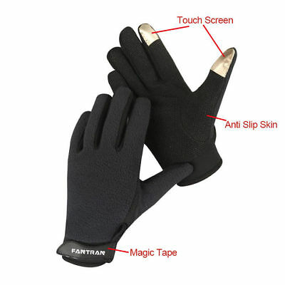 Full Fingerless Breathable Fishing non-slip mountaineering touchscreen Gloves