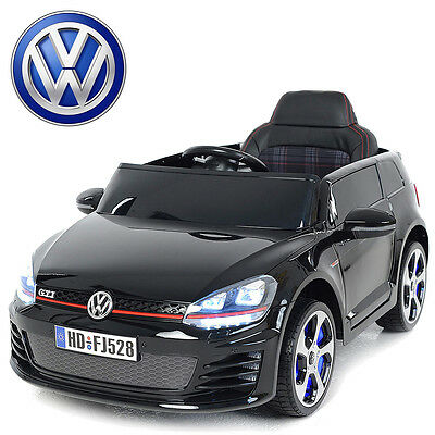 petite voiture quad lectrique pour enfant golf gti 12v. Black Bedroom Furniture Sets. Home Design Ideas