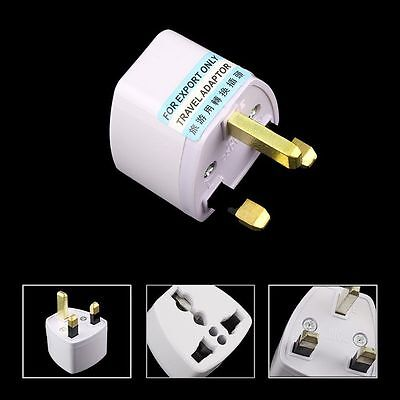 Travel to UK England Great Britain Plug Power Adapter Converter from EU US AU J#