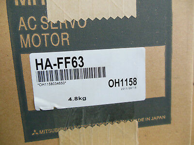 Mitsubishi Servo Motor Ha-Ff63 Free Expedited Shipping Haff63 New