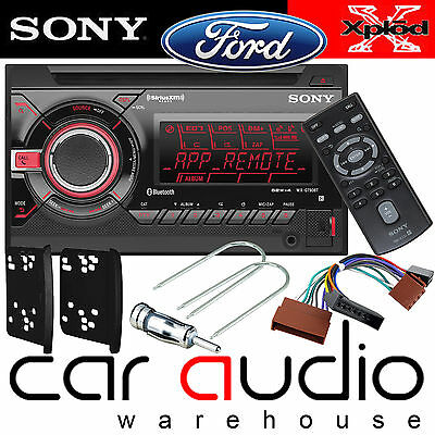 Ford Focus MK1 1999-05 Sony Double Din Bluetooth CD MP3 USB Player & Fitting Kit