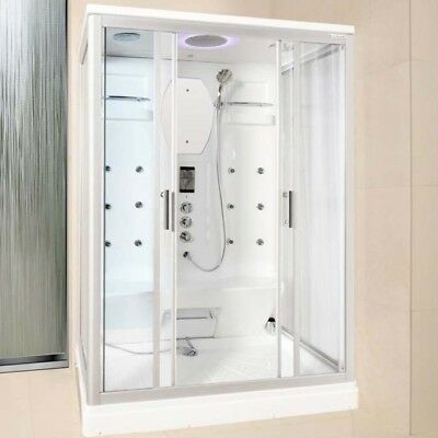 Lisna Waters LW27 1400 x 900 Two Person Steam Shower