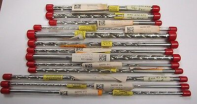 13 Pc Extra Long Drill bit Lot (Old Stock)