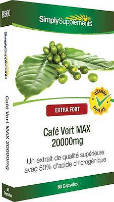 Café Vert MAX 20000mg - 60 capsules - Simply Supplements