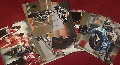 VALENTINO ROSSI x15   A3 PHOTOS LAB PRINTED HIGH RES MOTO GP