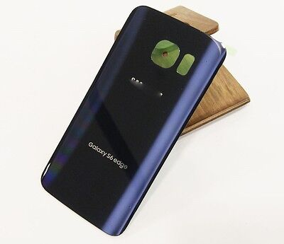 Rear Panel Battery Back Door Cover For Samsung Galaxy S6 edge G925P Blue Sprint