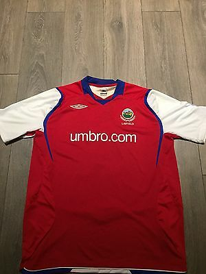 Linfield Away Shirt 2008/09 XL '4 In A Row' Rare