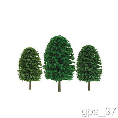 "Z - JTT TR-2021 Scenic Deciduous Trees 1"" - 2"" tall (Pack of 55 Pieces) - NIB"