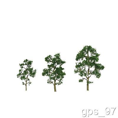 "Z - JTT TR-2043 Scenic Maple Trees 1"" - 2"" tall (Pack of 6 Pieces) - NIB"