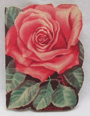 Vintage StanHome Stanley Home Products Needle Book Western Germany Rose