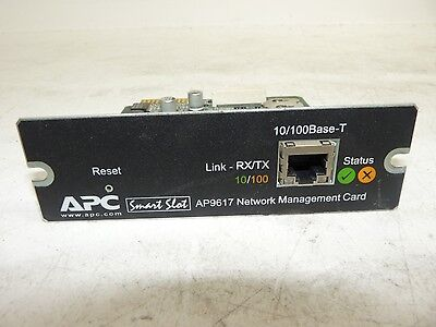 APC Smart Slot AP9617 10/100Base-T Network Management Card