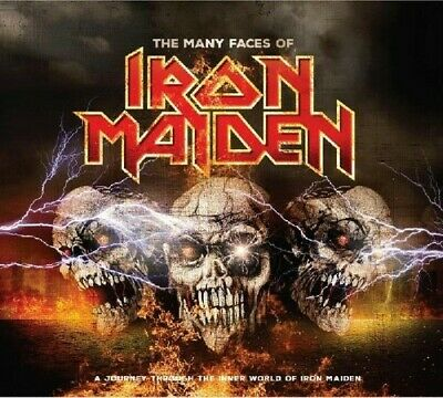 Many Faces Of Iron Maiden - 3 DISC SET - Many Faces Of Iron Maid (2016, CD NEUF)