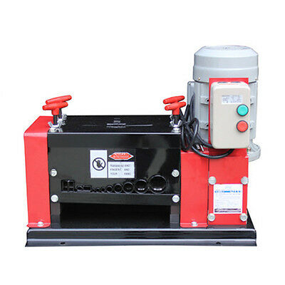 VICT 110V Auto Wire Scrap Cables Stripper Copper Recycle 38mm Stripping Machine