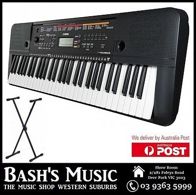 Yamaha Psre263 Keyboard Brand New 3 Year Warranty With Stand