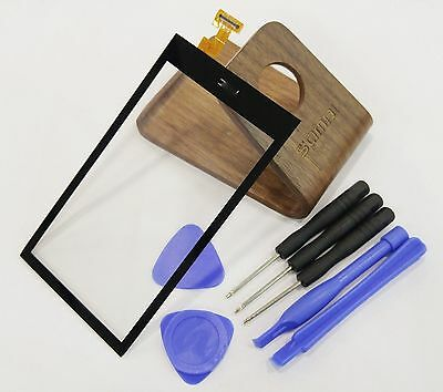 A+ Top Outer Front Panel Touch Screen Digitizer For HTC Desire 510 Black + Tools