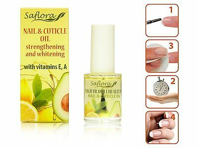 Vitaminized Nail & Cuticle Oil | 100% NATURAL INGREDIENTS + VITAMINS E and A