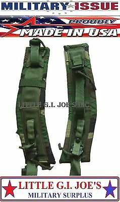 New Alice Pack Straps LC-1 Camouflage MILITARY ISSUE Alice Frame Straps (1-Pair)
