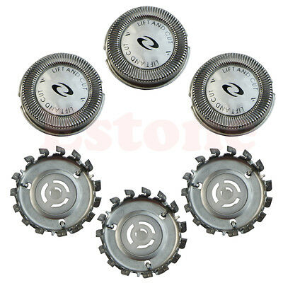 3x Shaver Head Replacement Blade Cutters For Norelco Philips HQ4 HQ58 HQ56 HQ66
