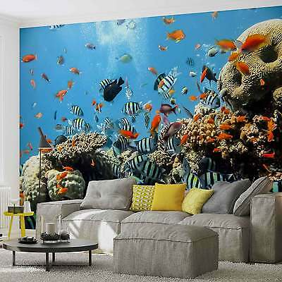 WALL MURAL Sea Ocean Fish XXL PHOTO WALLPAPER (4-005DC)