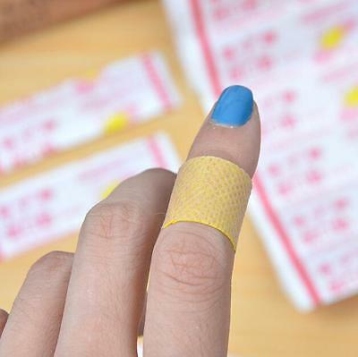 50PCs Large Pads New Band Aid Comfortable Fabric Sterile Adhesive Bandages