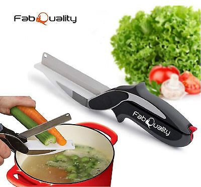 Kitchen Cutter 2-in-1 Food Slicer Dicer Vegetable Chopper Welcome Addition Tool