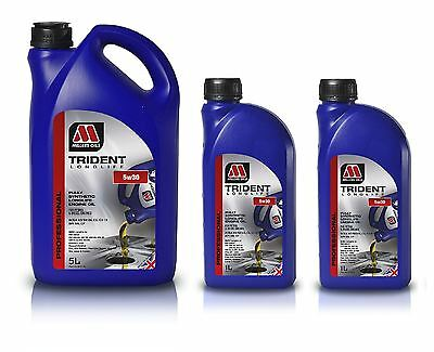 7L Millers Oils Trident Longlife 5w30 Engine Oil Fully Synthetic  7 Litre 5999