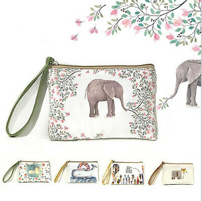 Scattered HandBags Girl Creative Hot Canvas Coin Purse Wallet Swinging Purse