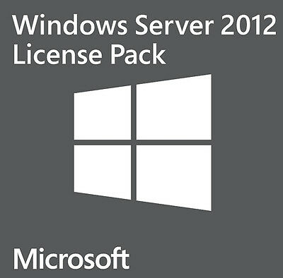 R18-03757 - Microsoft Windows Server 2012 5Er User Cal