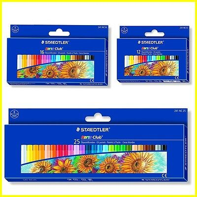 Staedtler Noris Oil Pastels for Craft Drawing - Pack of NC 25 - 16 - 12