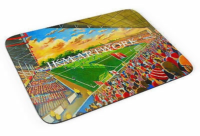 The Dell Stadium Art Mouse Mats - Southampton FC