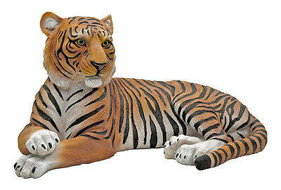 Features: Decorative statue is made from highly detailed poly resin Paint is bak