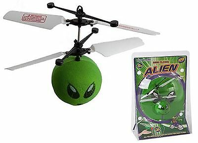 Mini Infrared Alien Robotic Flying Airship Floating Ball Ufo Saucer Alien Toy