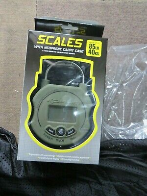 Korum Digital Electronic Fishing Scales 85lb / 40kg (KSCALE/01) and weigh sling