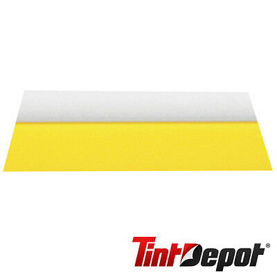 """Window Film Tools 5 1/2"""" Yellow Soft Turbo Squeegee Tinting Tool"""