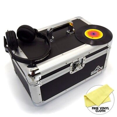 "Gorilla 7"" Singles Vinyl Record Carry Case Storage Box Tough Strong Holds 200"