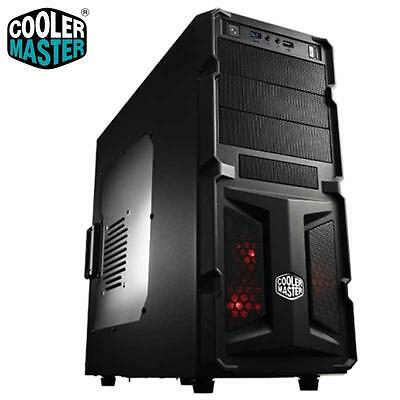 Case Cooler Master Middle Tower K-350 Con Finestra Trasparente Usb 3.0